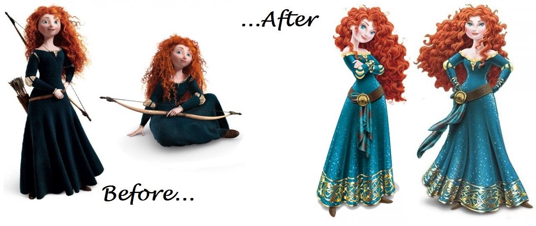 Merida Disney makeover