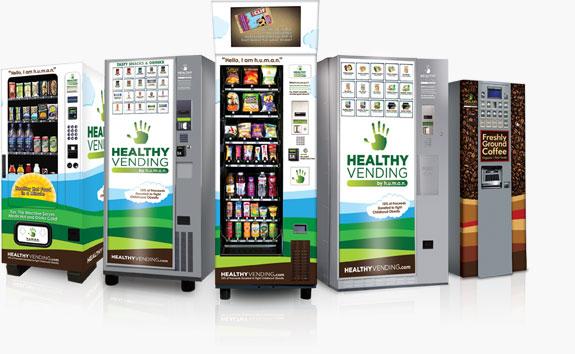 Human Healthy Vending Foods